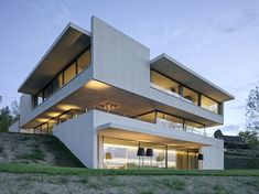 Best Ideas For Modern House Design : – Picture : – Description Buonas House by Wild Bär Heule Modern Architecture House, Modern Buildings, Beautiful Architecture, Residential Architecture, Modern House Design, Interior Architecture, Minimal Architecture, Contemporary Design, Casas Containers