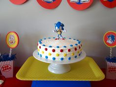 "Photo 1 of 21: Sonic the Hedgehog / Birthday "" Sonic Sebastian 6th Birthday party!"" 