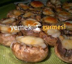 Fırında Kaşarlı Mantar - http://www.yemekgurmesi.net/firinda-kasarli-mantar.html