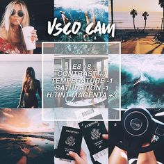 Here is some filters you can use for an Vsco/aesthetic picture! Vsco Photography, Photography Filters, Photography Editing, Landscape Photography, Best Vsco Filters, Insta Filters, Summer Filters Vsco, Filters Instagram, Free Vsco Filters
