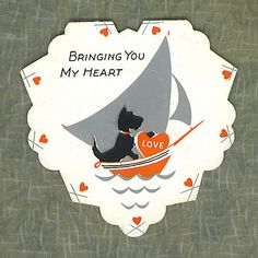 Bringing You My Heart (terrier) by Tommer G, via Flickr