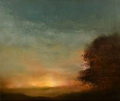"Maurice Sapiro; Painting, ""Sunset Oak"""