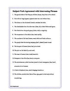 Subject - Verb Agreement | Poe-ly Written | Pinterest | Art ...