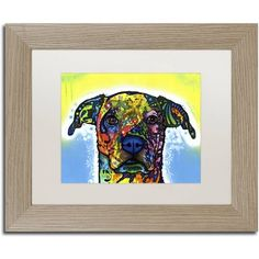 Trademark Fine Art Fiesta Canvas Art by Dean Russo White Matte, Birch Frame, Size: 16 x 20, Multicolor