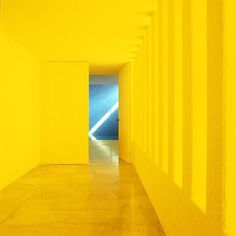 Hello yellow. Luis Barragán was born #onthisday in 1902. 'It is essential to an architect to know how to see: I mean to see in such a way that the vision is not overpowered by rational analysis.' #design #DesignandDesigners #designmuseum #architecture #colour #yellow #architect #luisbarragan #mexico #quote