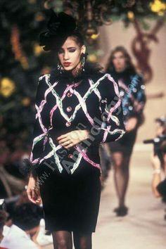Yves Saint Laurent | Fall 1987