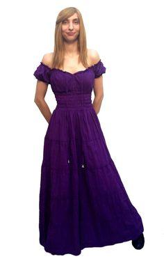 Cd18-PLUS Purple Ready To Ship 100% Cotton Renaissance