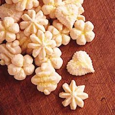 Lemon-Butter Spritz Cookies - we made these last year and they were the BEST!