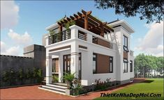 Duplex House Design, Small House Design, Beautiful House Plans, Beautiful Homes, 3d House Plans, Classic House, Home Fashion, My Dream Home, Home Interior Design