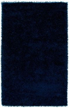 $5 Off when you share! Rizzy Rugs Kempton KM1 Blue Rug | Solid & Striped Rugs #RugsUSA