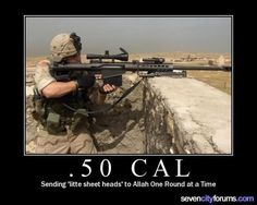 .50 Cal. Just fucking love that shit.