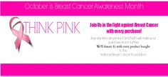 LETS FIND A CURE!!! #BreastCancer #Awareness - NuPo Skincare - Natural Skin care & Hair products. Shop For a Cause.