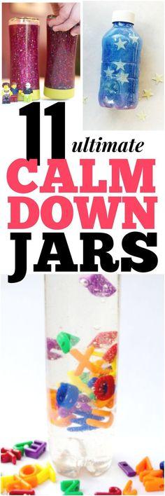 11 EASY Ultimate Calm Down Jars