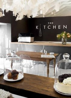"the kitchen at weylandts | south africa - though I am tired of the ghost chair being used to make a space ""modern"""