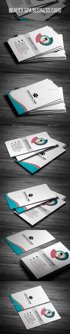 28 best spa business cards images on pinterest business cards beauty spa business card psd template modern design jaguarspaw download https reheart Gallery