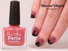 Paris skyline nailart (My Nails did Vinyls and Paris by Picture Polish)