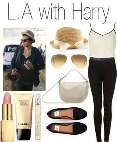 """""""L.A with Harry"""" by praradise ❤ liked on Polyvore"""