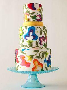 Crewel Gâteau travail