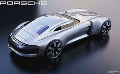 Porsche GTO concept work-in-progress by Alex Baldini Porsche Carrera, Porsche 928, Porsche Classic, Weird Cars, Cool Cars, Volkswagen Phaeton, Automobile, Porsche Design, Automotive Design