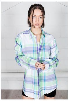 Vintage Tommy Hilfiger Striped Unisex Shirt | CosmicSaint | ASOS Marketplace