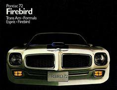 Pontiac Firebird - 1972 http://oldcarbrochures.org/