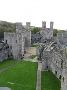 Caernarfon Castle - Wales; I'll be there in a few months!