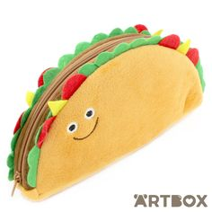 Buy Plush Chilli Taco Zipped Pencil Case at ARTBOX
