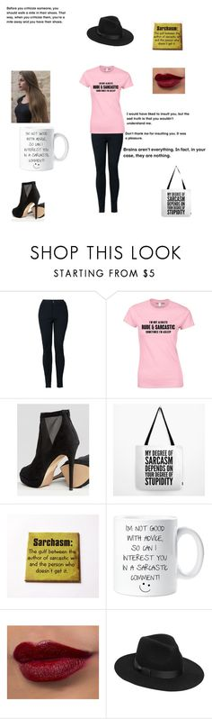 """""""Heavy Sarcasm"""" by caple-j ❤ liked on Polyvore featuring ALDO and Lack of Color"""