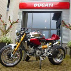 Ducati 1199 Panigale S Cafe Racer 'Ducati Elite II' - Moto Puro