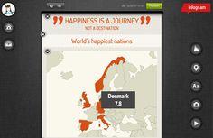 Create interactive infographics