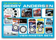 FAB Book of Gerry Anderson Viewmaster Sets