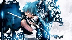 Wallpapers Manga > Wallpapers Soul Eater Black Star! the way of the Bushin! Masamune Infinity by mpzinzifruit - Hebus.com Black Star Soul Eater, Anime One Piece, Sexy Guys, Blade, Infinity, Fanart, Death, Sleeves, Manga Drawing
