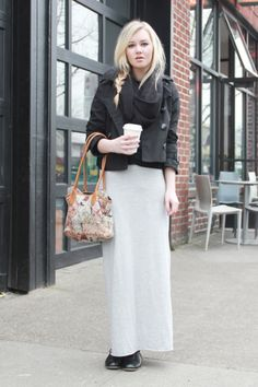 7 #Sophisticated Ways to Wear Maxi Skirts ...