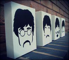 The Beatles - Sgt Peppers Stencil Spray Paint by RAMART79.deviantart.com on @deviantART