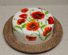 Gayle Bardrick - Hand Painted cake