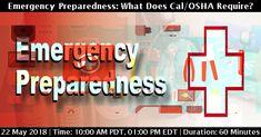 Emergency Preparedness, Health And Safety