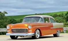 1955 Chevy..Re-pin...Brought to you by #CarInsurance at #HouseofInsurance in Eugene, Oregon