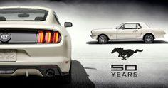 50 años Mustang