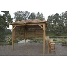 Hot Tub Gazebo | Windermere Party Gazebo | Garden Buildings
