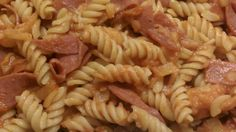 ... Substitute farfalle or rotini pasta if you can't find radiatore pasta