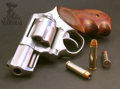 Ruger SP101 - 357mag with wood grips