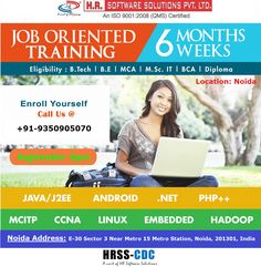 Job oriented Live Project Training in Noida. IT Company: HR Software Solutions Pvt. Ltd. Eligibility: MCA/BCA/B.Tech/Diploma