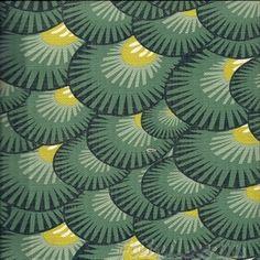 Cuba Laguna Contemporary Shell Pattern Printed Linen Texture fabric per yard