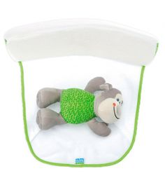Soporte para el sueño ergonómico SARO mono verde Soporte para el sueño ergonómico SARO Varios colores PVP 21,65€ Soporte del bebé para el sueño, en forma de divertido y suave animalito que duerme junto a él.