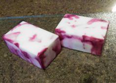 pomegranate coconut milk soap