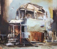 Angelika J. Trojnarski<br><br>#contemporary_art #painting #руины<br>https://vk.com/contemporary_art