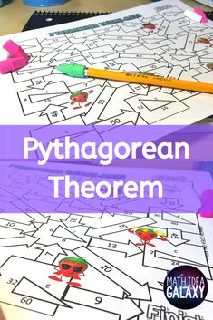 Students love these 3 Pythagorean Theorem mazes. They get students practicing and engaged! Check them out :-) Math Teacher, Math Classroom, Future Classroom, Classroom Ideas, Simplifying Expressions, Pythagorean Theorem, 8th Grade Math, Math Practices, Math Concepts