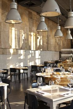 The Restaurant & Bar Design Awards is the world's only event dedicated exclusively to the design of food and drink design spaces Industrial Living, Industrial Interiors, Industrial Furniture, Industrial Bookshelf, White Industrial, Kitchen Industrial, Industrial Office, Industrial Farmhouse, Industrial Style