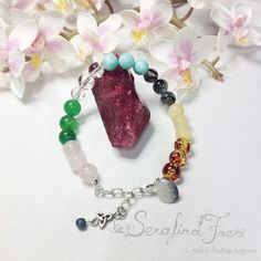 Fibromyalgia Awareness Crystal Energy Fibro Relief Gifts for Her Gifts for Him Holistic Spiritual Jewelry Holistic Jewelry Unique Gift Idea