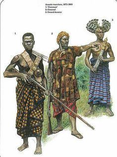 52 best african civilizations images on pinterest africa soldiers warriors of the ashanti empire west africa circa 1900 publicscrutiny Choice Image